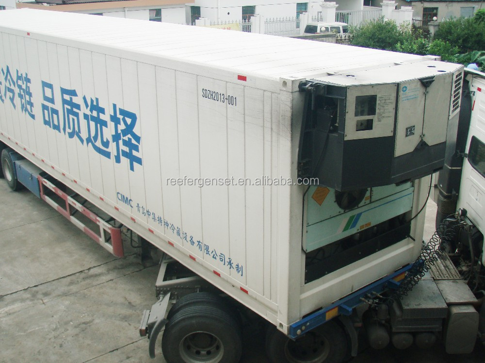 used genset for reefer container
