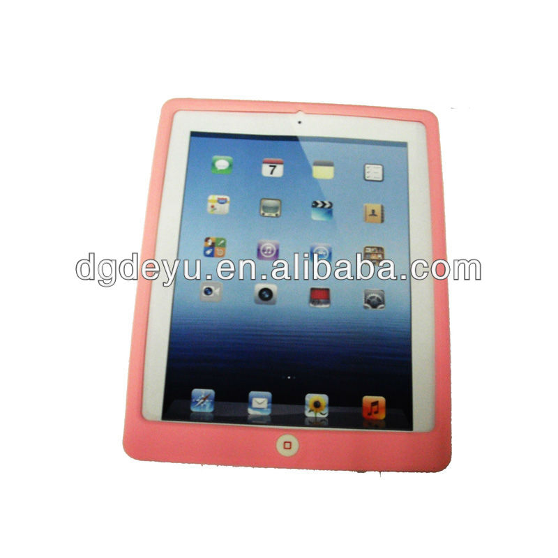 Perfect silicone case for ipad2/3
