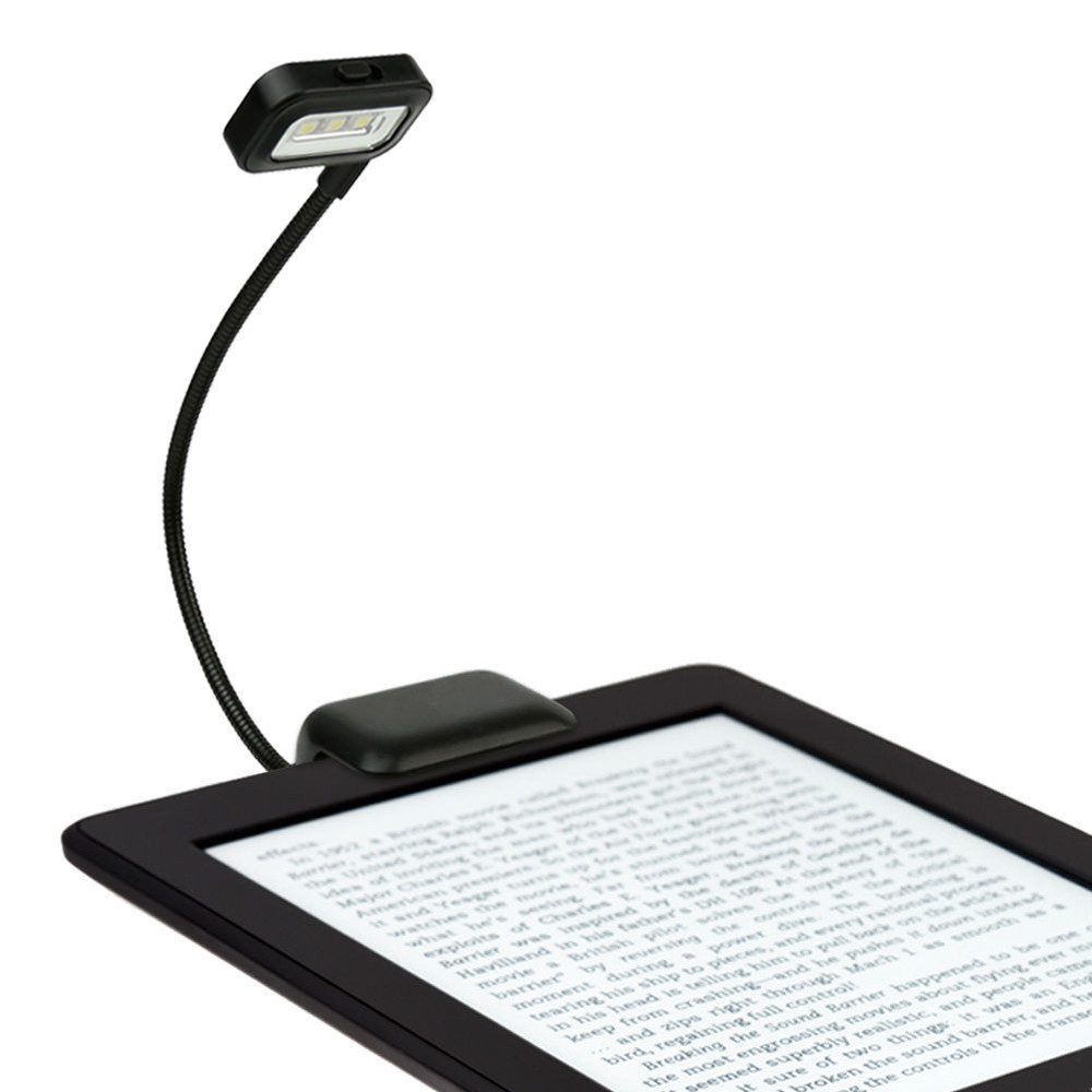 Ebook Light Universal 3 Led Compact Clip Kindle Nook Kobo Reader ...