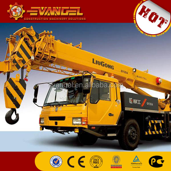 korea crane and korea crane truck Hot sale Liugong mini truck crane from China