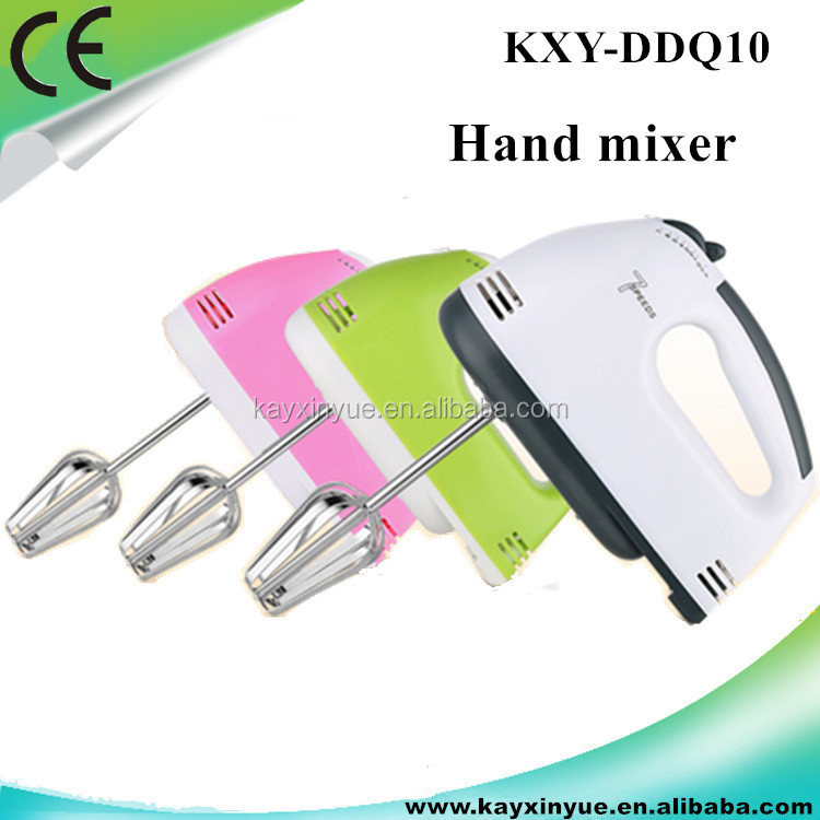 Full Copper Hand Held competitive price 7 speed electric food mixer