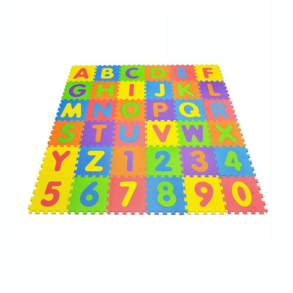 Activity & Gear 36 Pcs Childrens Puzzle Mat Digital Letter Educational Foam Cushion Cold-proof Environmentally Friendly Baby Crawling Mat Special Buy