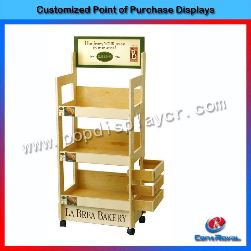 2017 Custom Design Wooden Bakery Bread Display Rack Buy Bakery Display Breadbakery Display Rackwood Food Display Rack Product On Alibabacom