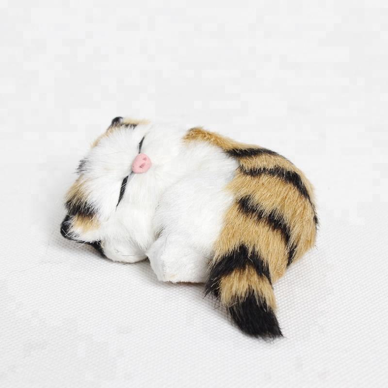 Promotional Mini Furreal Friends Cute Tabby Cat Ornamental Toy