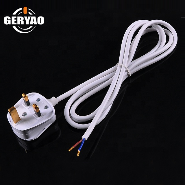 Factory Price Bs Approved Fused Uk Plug Power Cord,Uk 3 Pin Plug Wire on