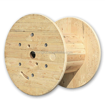 manufacturer large pine timber wooden industrial cable reel drum view cable reel mingrui. Black Bedroom Furniture Sets. Home Design Ideas