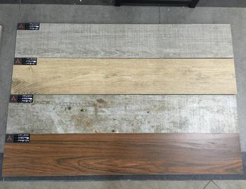 Houten Tegels Balkon : 150x900mm rustieke houten balkon vloer inkt jet porselein tegel