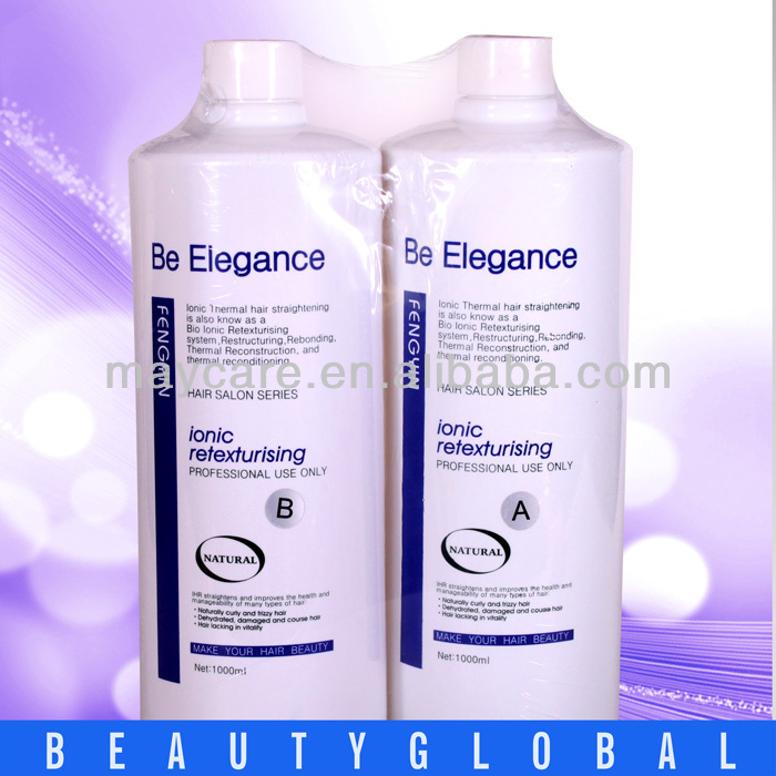 OEM Collagen Active Strong Strength Elasticity Permanent Straightening Hair Relaxer Products
