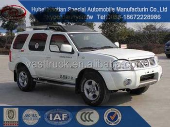 Nissan Bulletproof Army Used Armored Truck Cash Carrier Van Cargo