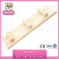 Customized colorful Wooden anti-skid Ladder for Hamster rabbit Pet Toys