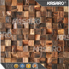 3D Interior Decoration Wallpaper Natural Wood Wall Panel