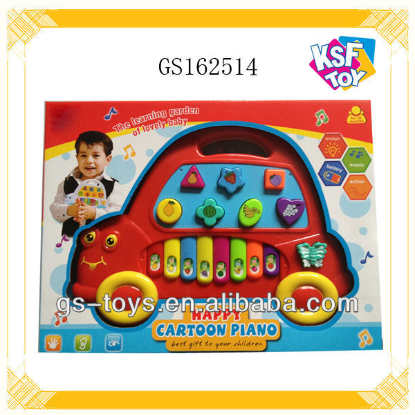 educational learning toy battery operated baby piano with wholesale
