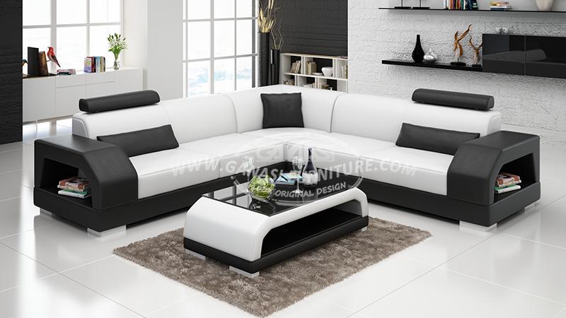 Ganasi Furniture Leather Sofa Set Contemporary Sets Italian Designs