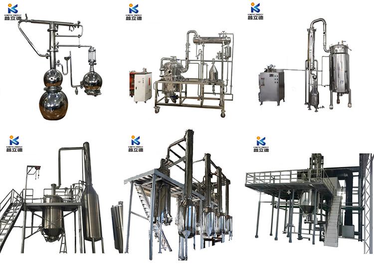 ätherisches Öl der Pfefferminzmaschine, Destillationsausrüstung des ätherischen Öls von Jasmin