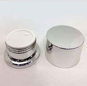 wholesale high cap 50g 30g empty plastic face cream jars