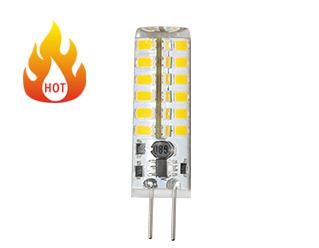 หลอดไฟ led รับรองกับ CE RoHs PC รูปร่าง LED G9 ไฟ led พลังงานแสงอาทิตย์