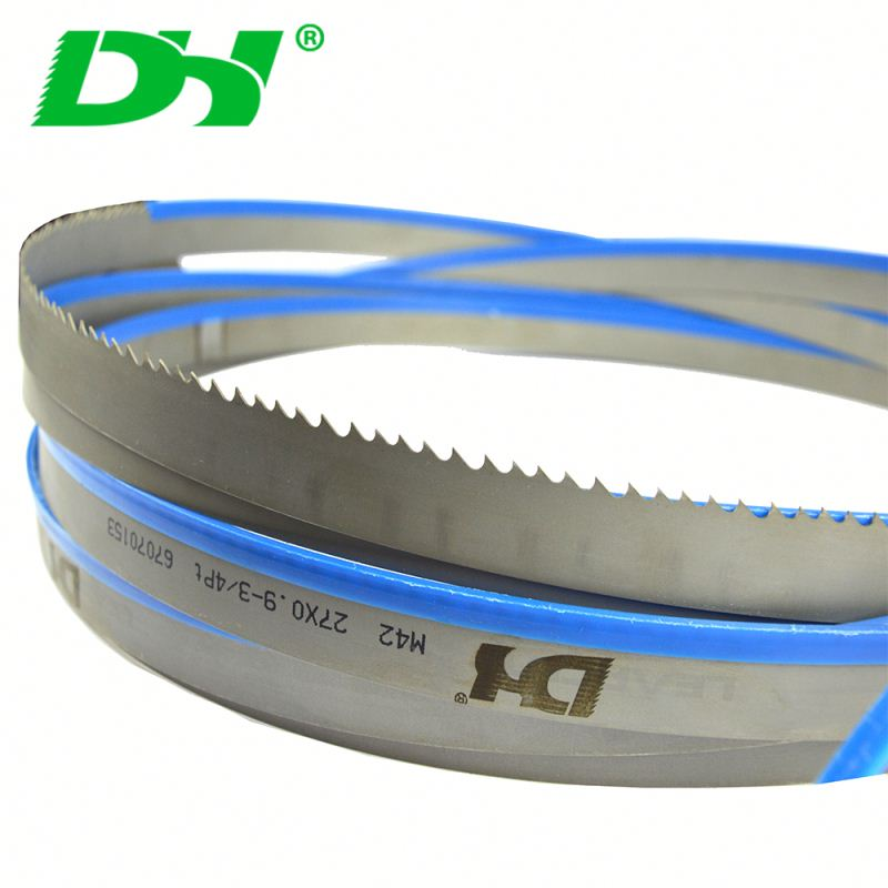 27*0.9mm bimetal band saw blades for Metal Cutting TPI 2/3 TPI 3/4 TPI 4/6
