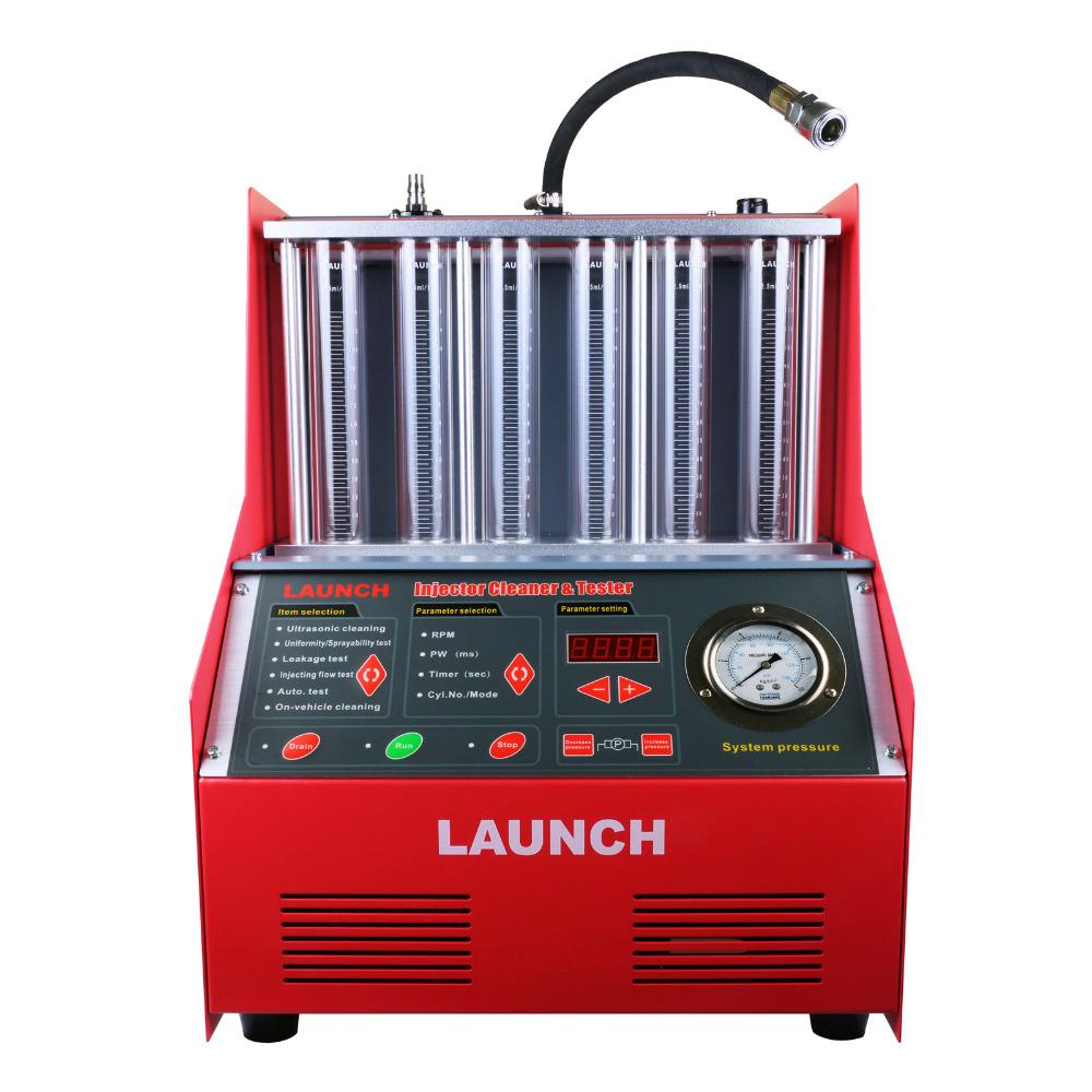 Lancio cnc602a injector cleaner e tester Con L'inglese Panel Supporta Solo 220 v