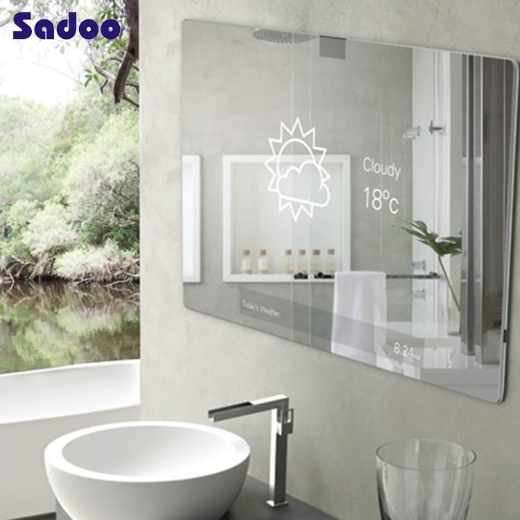 Commercio all 39 ingrosso della parete appeso armadio gioielli con specchio in bianco specchio del - Armadio specchio gioielli ...