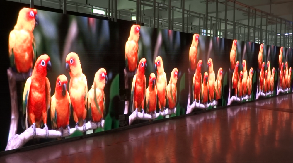 energy saving outdoor advertise screen p8 smd full color led module