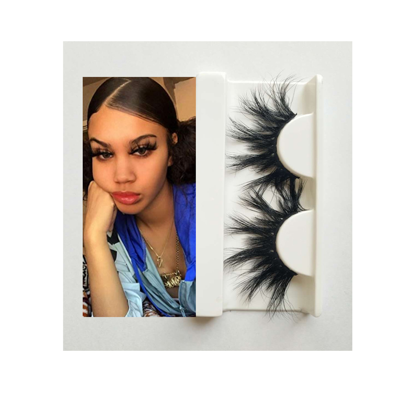 20% off Super Deal wholesale private label invisible band cruelty free 3d Mink Eyelashes false lashes with custom packaging, Natural black