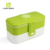 2019 LOOK BACK amazon Rectangle sealed plastic lunch box with dividers
