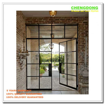 Shanghai Factory Commercial Used Glass Sliding Door Pricedouble