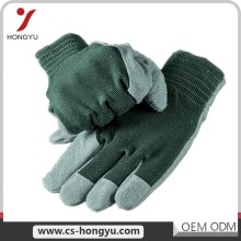 Wholesale winter or spring white grain cow split working leather glove