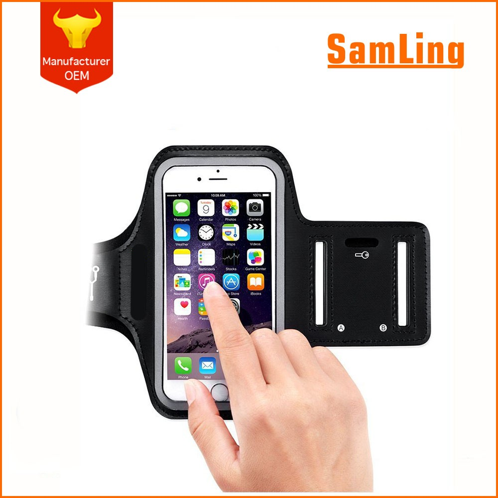 Sports Accesories Arm Holder Smartphone Fabric Armband Case