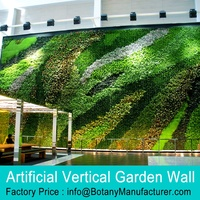 Artificial Vertical Garden, Artificial Plants Wall, Green Plants Wall for indoor or outdoor decoration