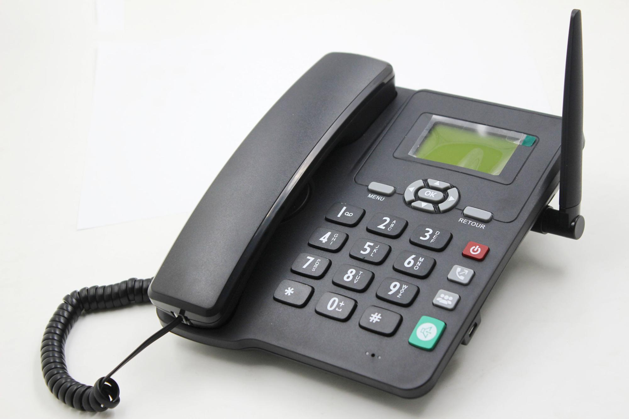Chenfenghao Wholesale One Piece 2G & 4G GSM Caller Idcordedhometelephone