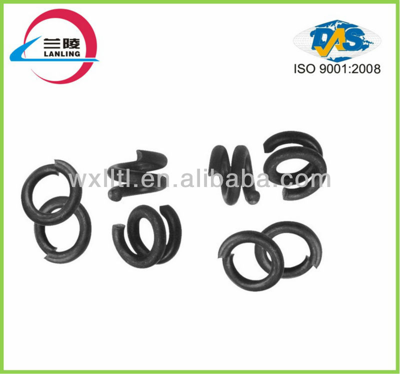 high strength railway double spring washer