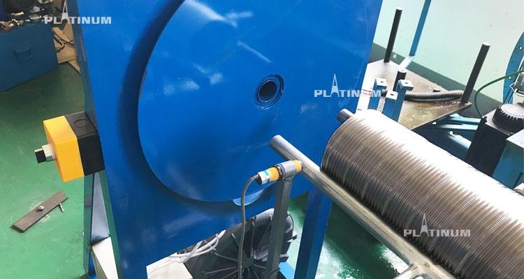 HVAC flexible flex aluminum stainless steel hood exhaust pipe duct hose forming making machine for  FlexLine Flexible flue liner