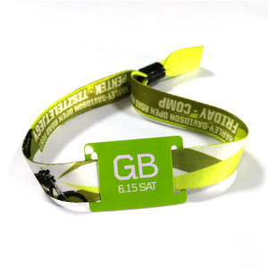 LF TK4100 wristband RFID card access control for festivals and events