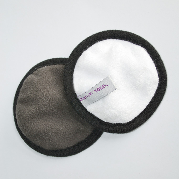 Make pad bamboe make-up doek herbruikbare make-up remover pad