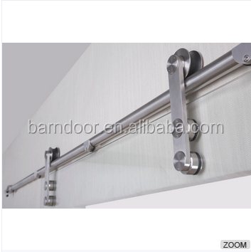 Modern design glass barn door hardware