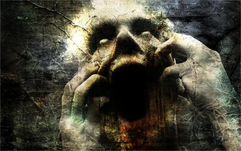 Dark horror dark <font><b>gothic</b></font> scream 4 Sizes <font><b>Home</b></font> <font><b>Decor</b></font> Canvas Poster Print