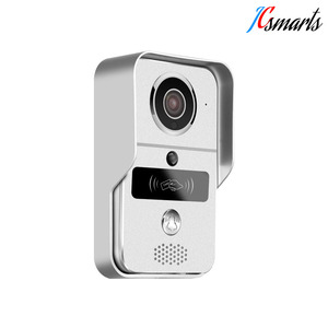WIFI door ringer ring security IP doorbell ONVIF interface APP control door unlocking video intercom door phone