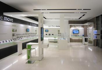 Mobile Shop Furniture Showcase Design For Mobile Store Decoration ...