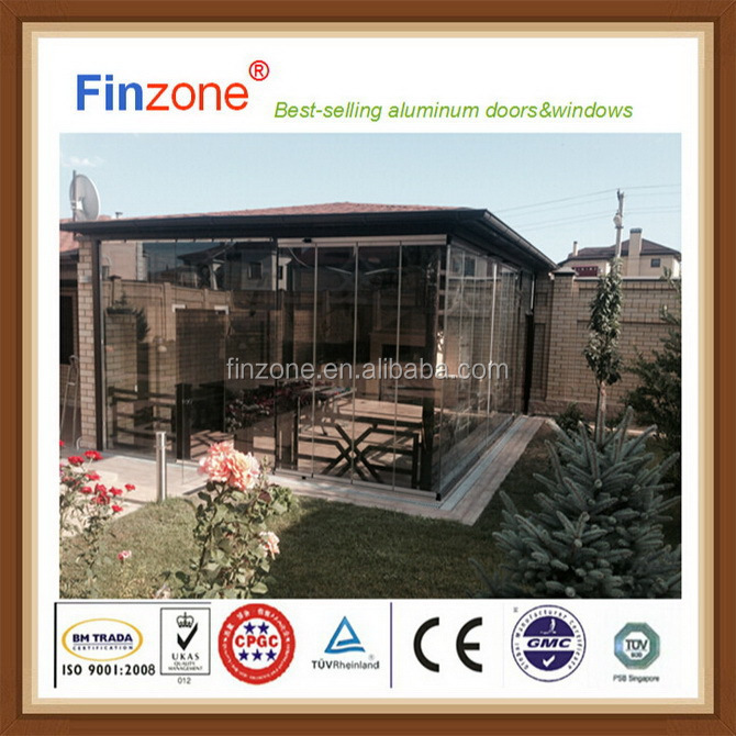 High evaluation new style balcony designs window double glazing