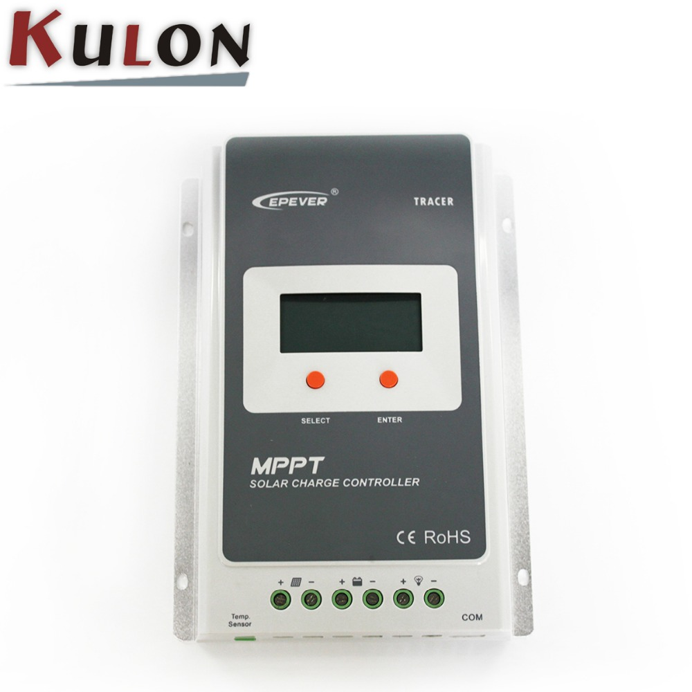 Telecommunication base station EPever Tracer3210A 30A 12V 24V MPPT solar <strong>charge</strong> <strong>controller</strong>