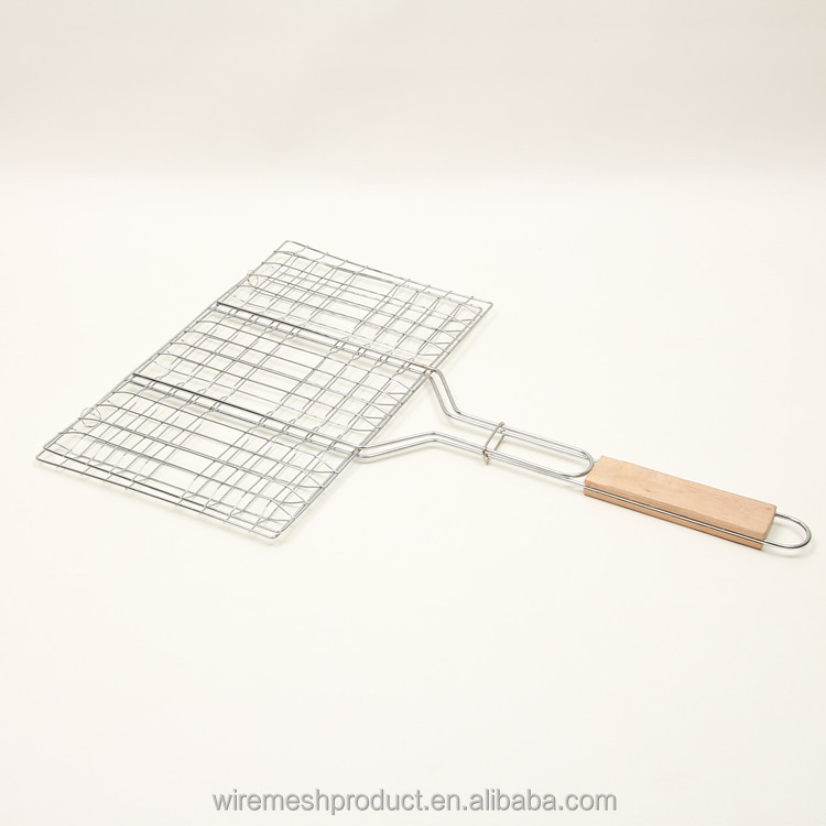 High Quality Low Price stainless steel barbecue mesh /toaster grill mesh/outdoor cooking bbq mesh