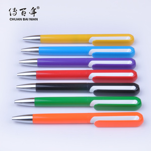 2019 New Nice Design Promotional Plastic Twist Ball Pen With Print Logo