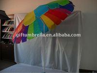All Pink beach umbrella(with tilt)
