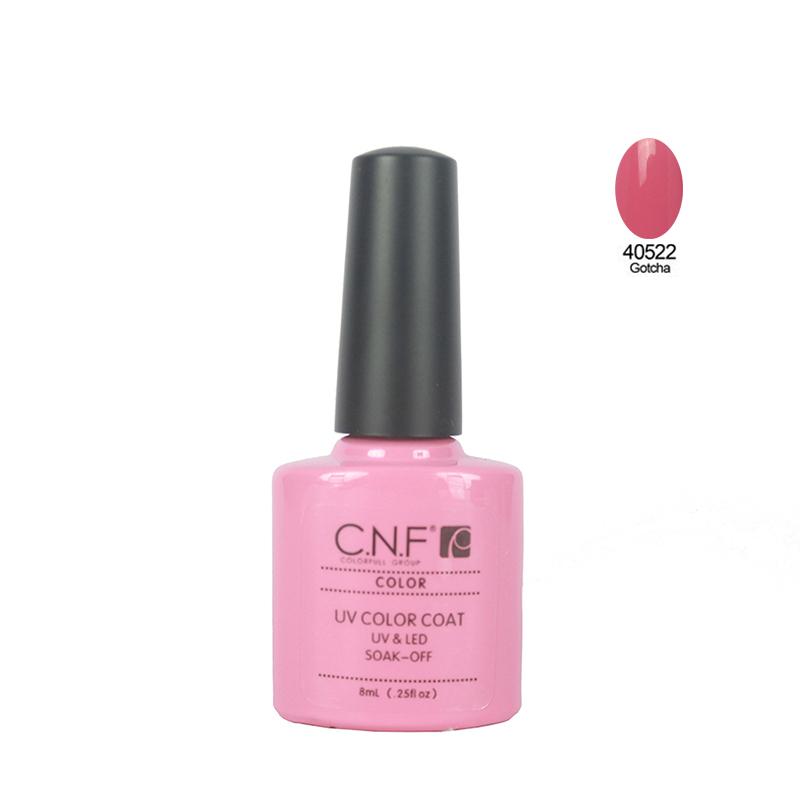 1PCS Lot colors40522 for CNF 79 Colors 7 3ml soak off UV LED Nail Gel Polish