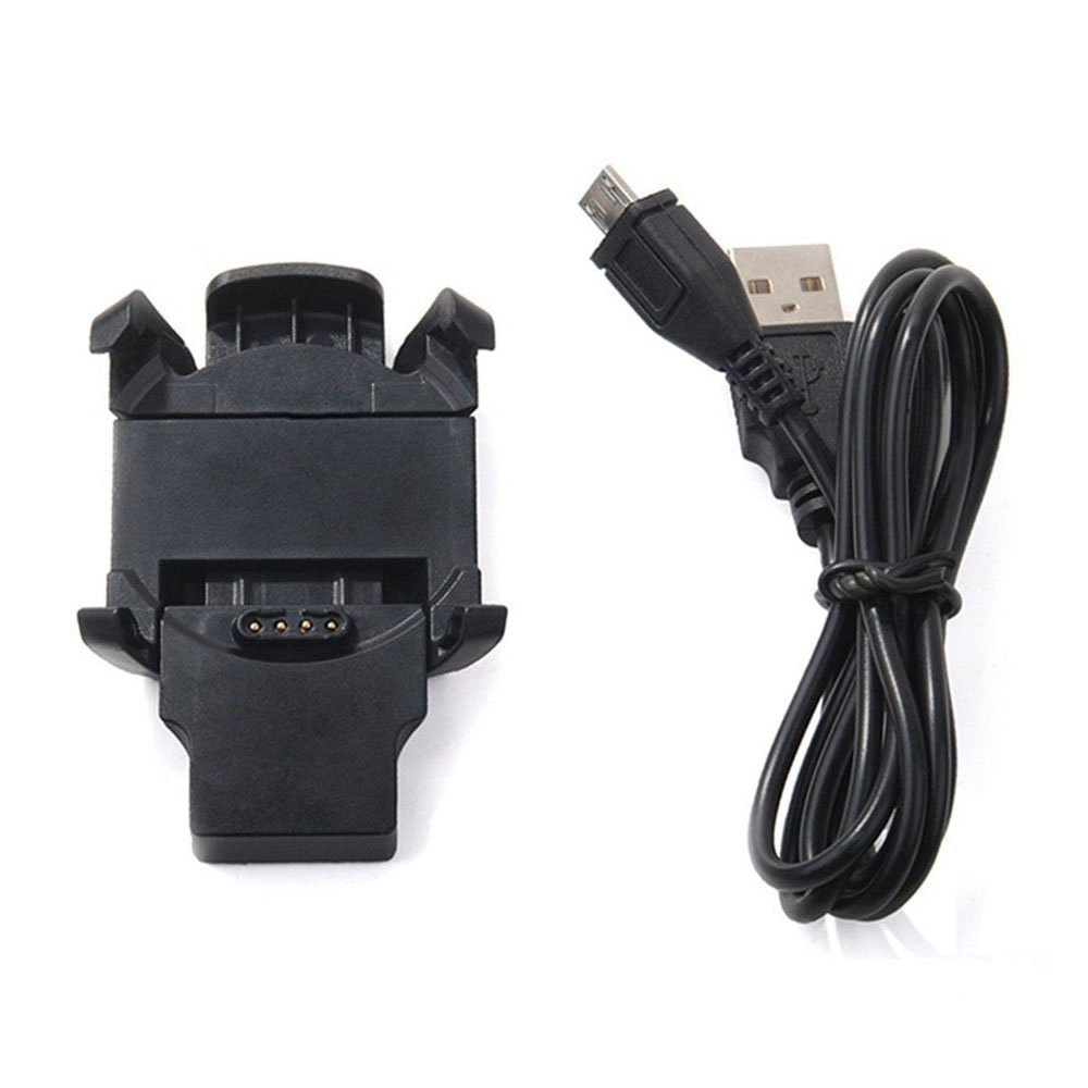 Garmin Fenix 3 Charger, Data Sync USB Charge Cradle Dock Charger Clip Charging Cable for Garmin Fenix 3 Sport Smart Watch