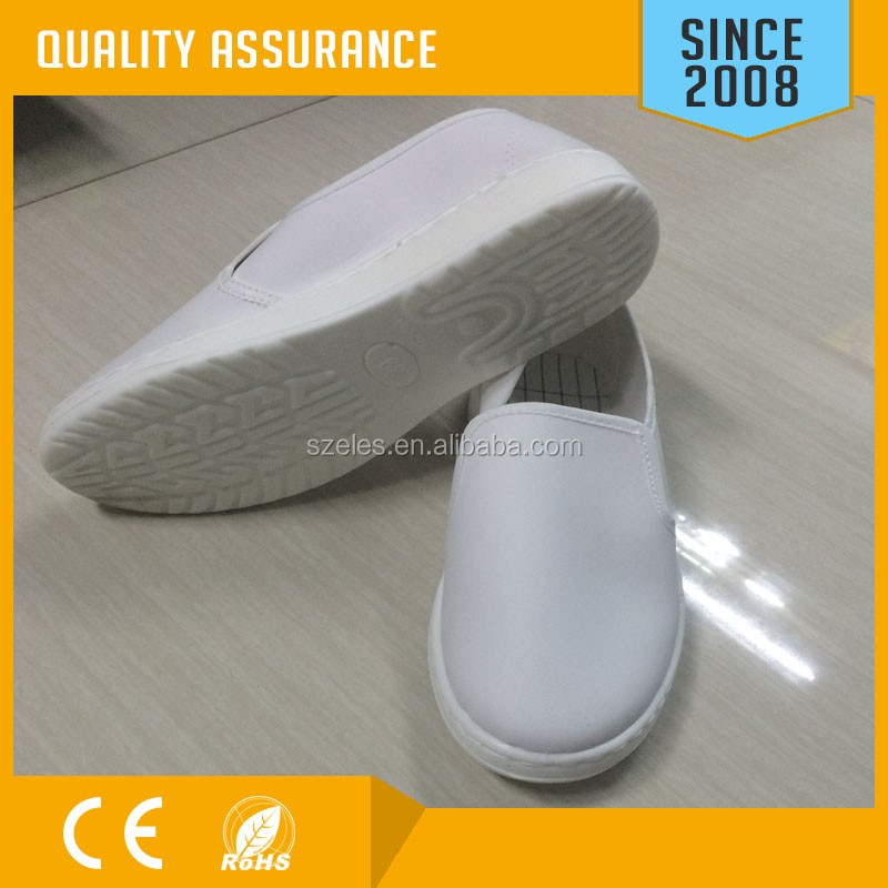 Anti Static PU PVC Material ESD Cleanroom Shoes