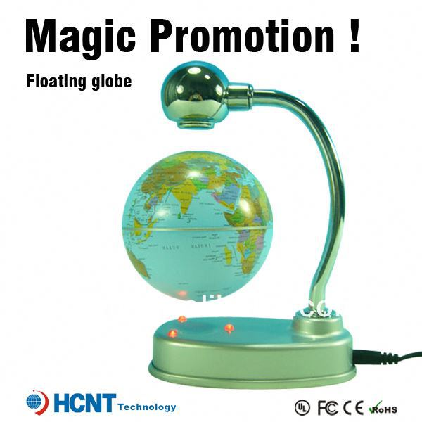New invention ! Magetic Levitation globe for educational toys ! growing grass head toys