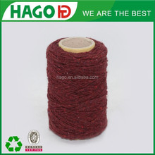 Ne 4s/1 Nm6.7/1 conveyor belt 100% polyester yarn textile OE technic yarn recycled cotton polyester 65/35 blende yarn