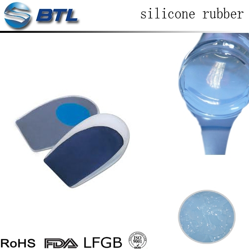 Eco-friendly liquid soft silicone elastomer for shoes soles